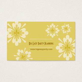 Cartão De Visitas Flor da flor de lis