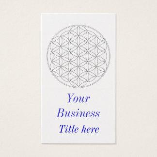 Cartão De Visitas flor da vida