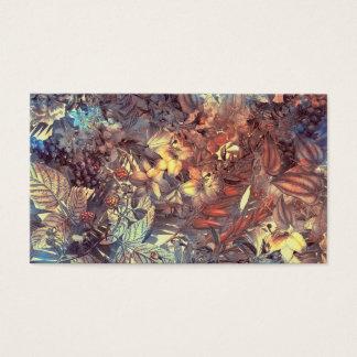 Cartão De Visitas flores