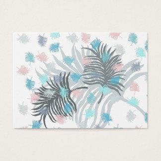 Cartão De Visitas Folha de palmeira