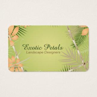 Cartão De Visitas Folha tropical