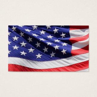 Cartão De Visitas Forças armadas patrióticas americanas do veterano