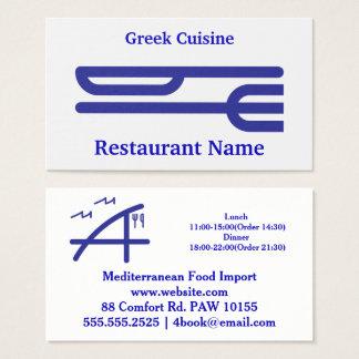 Cartão De Visitas Fork&Knife