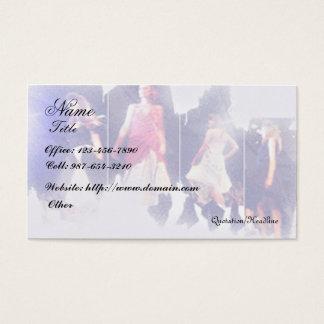 Cartão De Visitas Forma/desenhista da roupa