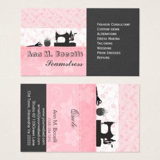 Cartão De Visitas Forma Handmade feminino profissional Moda