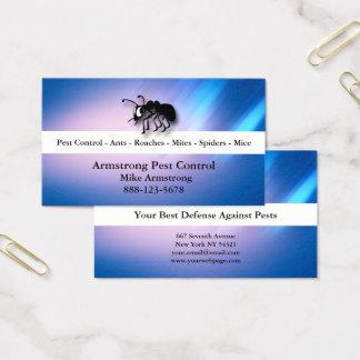 Cartão De Visitas Formiga do Exterminator do controlo de pragas