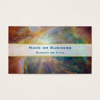 Cartão De Visitas Foto da astronomia da nebulosa de Orion