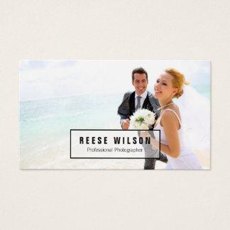 Cartão De Visitas Fotografia profissional do fotógrafo