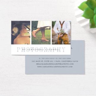 Cartão De Visitas Fotógrafo completo da foto da listra | multi