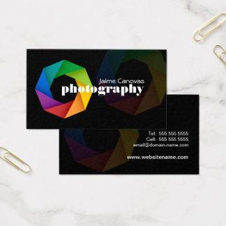 Cartão De Visitas Fotógrafo moderno