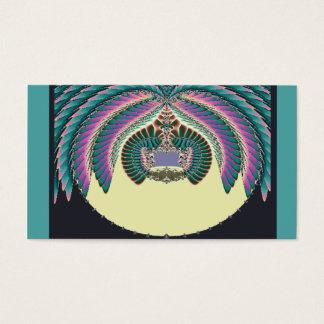 Cartão De Visitas Fractal Lignt e Lampshade