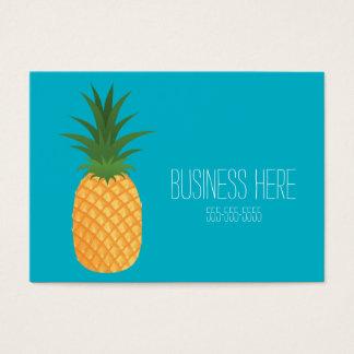 Cartão De Visitas Fruta gráfica do abacaxi tropical na moda à moda