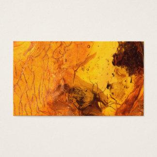 Cartão De Visitas Fundo de pedra ambarino da textura