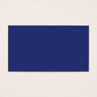Cartão De Visitas Fundo personalizado azul escuro da meia-noite do