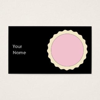 Cartão De Visitas Galdéria do doce. Rosa pálido.