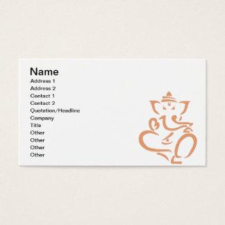Cartão De Visitas Ganesha