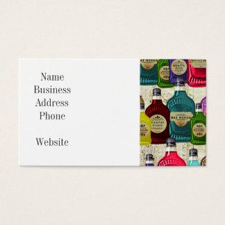 Cartão De Visitas Garrafa do tónico do Apothecary dos doutores de