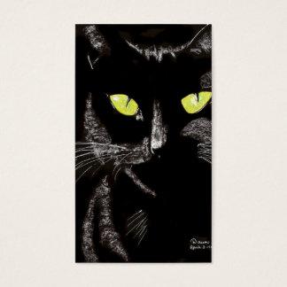 Cartão De Visitas gato sassy