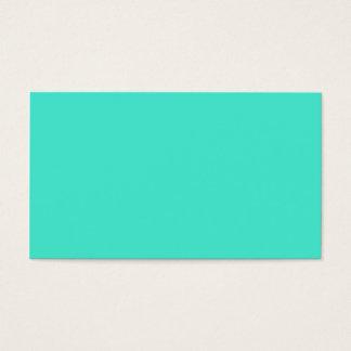 Cartão De Visitas Gema B10 de uma turquesa! Cor