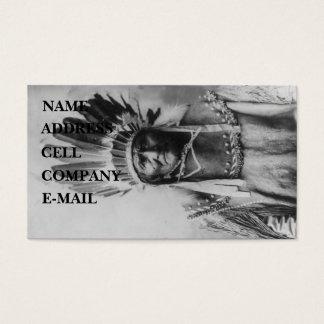 Cartão De Visitas 'Geronimo com mantilhas