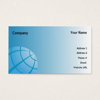 Cartão De Visitas Globo-Negócio do mundo