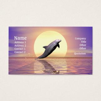 Cartão De Visitas Golfinho Sun