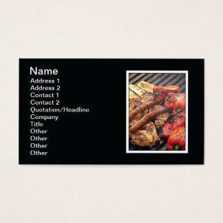 Cartão De Visitas Grade