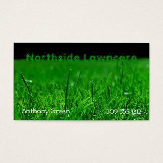 Cartão De Visitas Grama do gramado