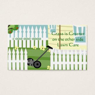 Cartão De Visitas Grama mais verde