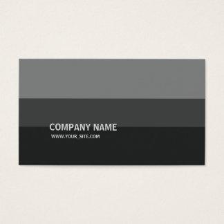 Cartão De Visitas Graustufen Simples Moderno Elegante Empresa