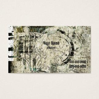 Cartão De Visitas grunge industrial