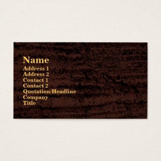 Cartão De Visitas grunge preto marrom