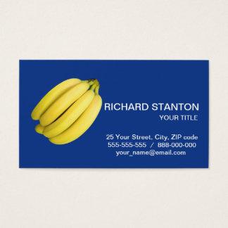 Cartão De Visitas Grupo das bananas