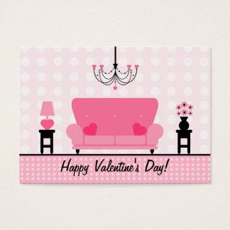 Cartão De Visitas Grupo do feliz dia dos namorados da sala de