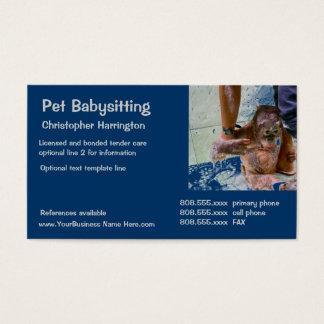 Cartão De Visitas Guarda animal