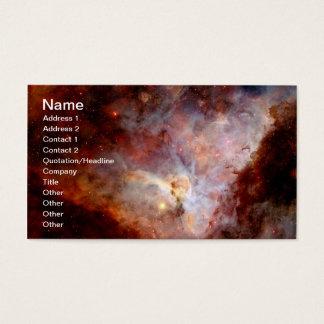 Cartão De Visitas Hemisfério sul da nebulosa de Carina