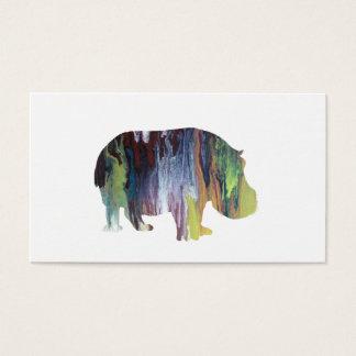 Cartão De Visitas Hippopotamus