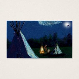 Cartão De Visitas hora dos antepassados