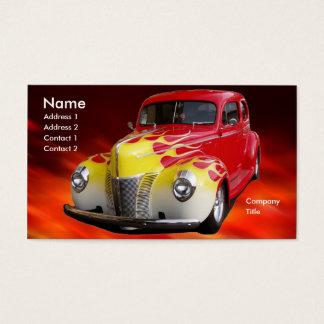 Cartão De Visitas Hot rod de luxe