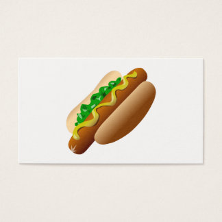 Cartão De Visitas Hotdog