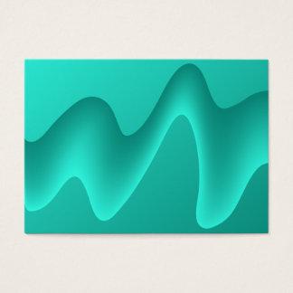 Cartão De Visitas Imagem do design do abstrato da cerceta