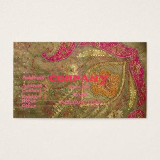 Cartão De Visitas India