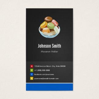 Cartão De Visitas Inovativo criativo dos Macaroons do fabricante de