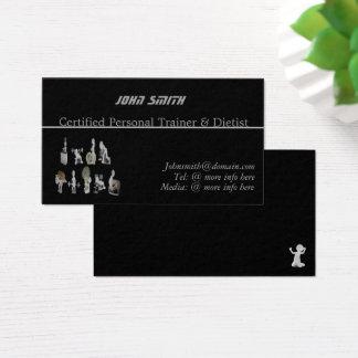 Cartão De Visitas Instrutor/cartão de visita pessoais feitos sob