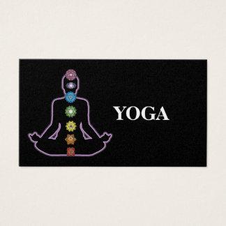 Cartão De Visitas Instrutor da ioga