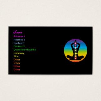 Cartão De Visitas Ioga
