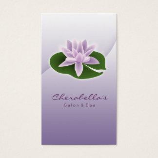 Cartão De Visitas Ioga da flor de Lotus/cartão de visita do salão de