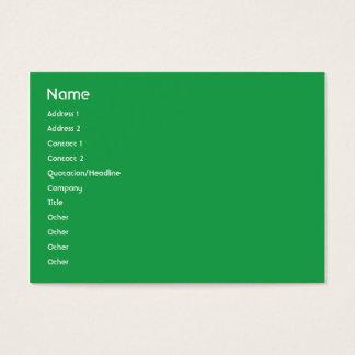 Cartão De Visitas Italia - carnudo