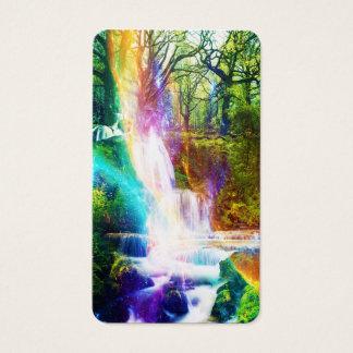 Cartão De Visitas Jardim da menina do arco-íris