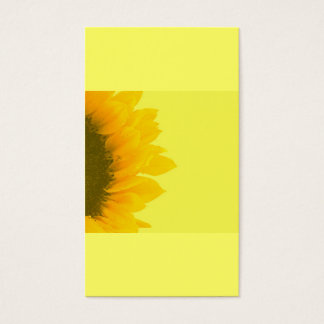 Cartão De Visitas Jardinagem holística do girassol de |